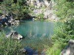 <b>le lac bleu en Haute Loire </b> <br />