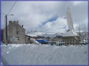 les Estables en hiver Auvergne