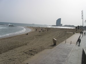 plage de Barceloneta